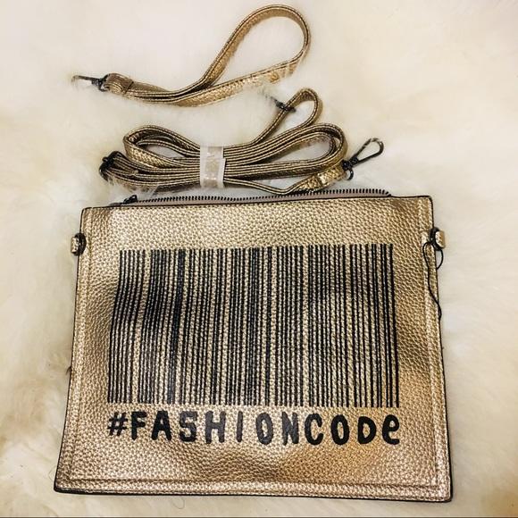 Socrushin Handbags - Gold & Black FASHION CODE  Versatile Purse